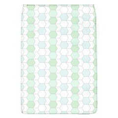 Allover Graphic Soft Aqua Removable Flap Cover (Large)