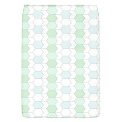 Allover Graphic Soft Aqua Removable Flap Cover (small)