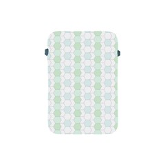 Allover Graphic Soft Aqua Apple iPad Mini Protective Sleeve
