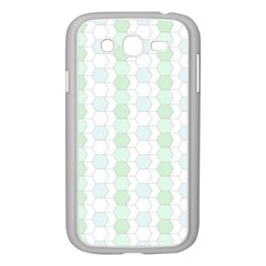 Allover Graphic Soft Aqua Samsung Galaxy Grand Duos I9082 Case (white)