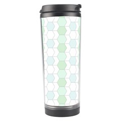 Allover Graphic Soft Aqua Travel Tumbler