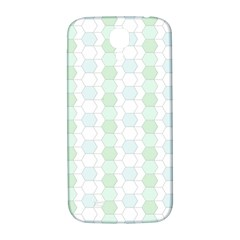 Allover Graphic Soft Aqua Samsung Galaxy S4 I9500/I9505  Hardshell Back Case
