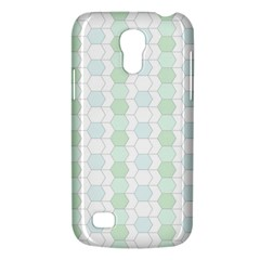 Allover Graphic Soft Aqua Samsung Galaxy S4 Mini (GT-I9190) Hardshell Case