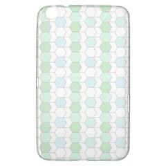 Allover Graphic Soft Aqua Samsung Galaxy Tab 3 (8 ) T3100 Hardshell Case