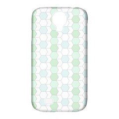 Allover Graphic Soft Aqua Samsung Galaxy S4 Classic Hardshell Case (PC+Silicone)