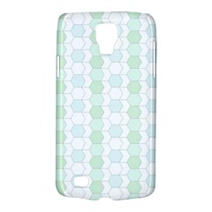 Allover Graphic Soft Aqua Samsung Galaxy S4 Active (I9295) Hardshell Case