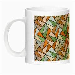 Allover Graphic Brown Glow in the Dark Mug