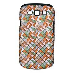 Allover Graphic Brown Samsung Galaxy S III Classic Hardshell Case (PC+Silicone)