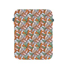 Allover Graphic Brown Apple iPad Protective Sleeve