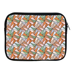Allover Graphic Brown Apple Ipad Zippered Sleeve