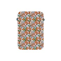 Allover Graphic Brown Apple iPad Mini Protective Sleeve