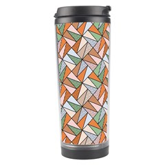 Allover Graphic Brown Travel Tumbler