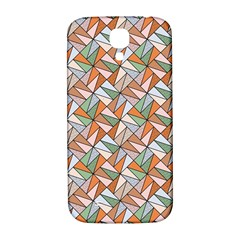 Allover Graphic Brown Samsung Galaxy S4 I9500/I9505  Hardshell Back Case