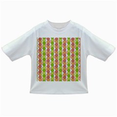Allover Graphic Red Green Baby T Shirt