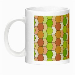 Allover Graphic Red Green Glow in the Dark Mug
