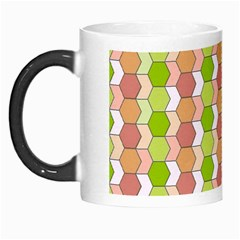 Allover Graphic Red Green Morph Mug
