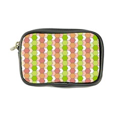 Allover Graphic Red Green Coin Purse