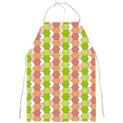 Allover Graphic Red Green Apron