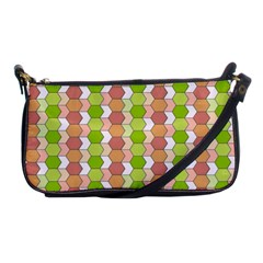 Allover Graphic Red Green Evening Bag