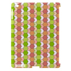Allover Graphic Red Green Apple Ipad 3/4 Hardshell Case (compatible With Smart Cover)