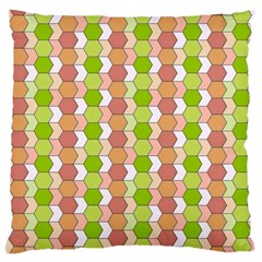 Allover Graphic Red Green Large Cushion Case (Two Sided)