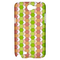 Allover Graphic Red Green Samsung Galaxy Note 2 Hardshell Case