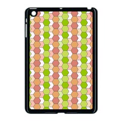 Allover Graphic Red Green Apple Ipad Mini Case (black)
