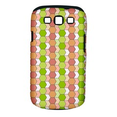 Allover Graphic Red Green Samsung Galaxy S III Classic Hardshell Case (PC+Silicone)