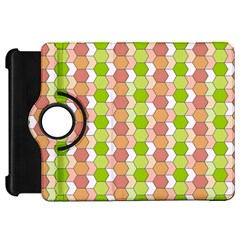 Allover Graphic Red Green Kindle Fire HD 7  (1st Gen) Flip 360 Case