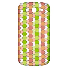 Allover Graphic Red Green Samsung Galaxy S3 S III Classic Hardshell Back Case