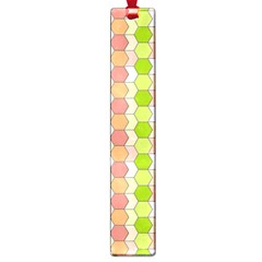 Allover Graphic Red Green Large Bookmark