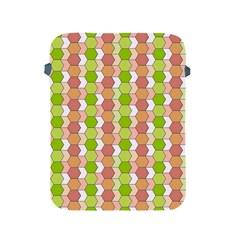 Allover Graphic Red Green Apple iPad Protective Sleeve