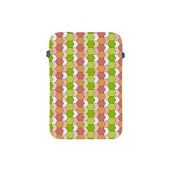 Allover Graphic Red Green Apple iPad Mini Protective Sleeve
