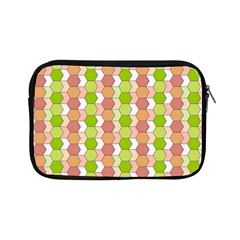 Allover Graphic Red Green Apple iPad Mini Zippered Sleeve