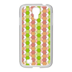 Allover Graphic Red Green Samsung Galaxy S4 I9500/ I9505 Case (white)