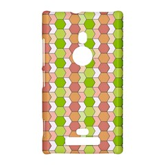 Allover Graphic Red Green Nokia Lumia 925 Hardshell Case