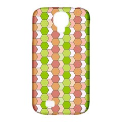 Allover Graphic Red Green Samsung Galaxy S4 Classic Hardshell Case (pc+silicone)