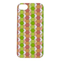 Allover Graphic Red Green Apple iPhone 5S Hardshell Case