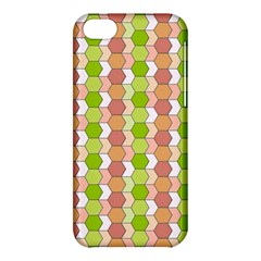 Allover Graphic Red Green Apple Iphone 5c Hardshell Case