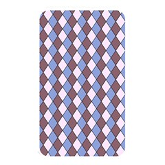 Allover Graphic Blue Brown Memory Card Reader (rectangular)