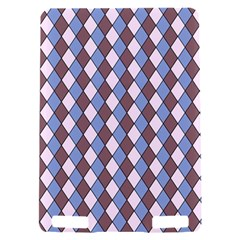 Allover Graphic Blue Brown Kindle Touch 3G Hardshell Case