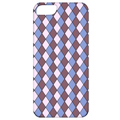 Allover Graphic Blue Brown Apple iPhone 5 Classic Hardshell Case