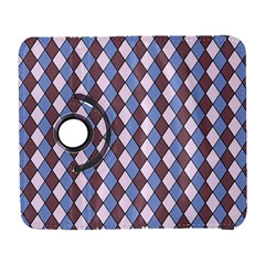 Allover Graphic Blue Brown Samsung Galaxy S  Iii Flip 360 Case