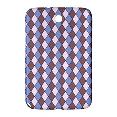 Allover Graphic Blue Brown Samsung Galaxy Note 8 0 N5100 Hardshell Case