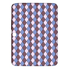 Allover Graphic Blue Brown Samsung Galaxy Tab 3 (10.1 ) P5200 Hardshell Case