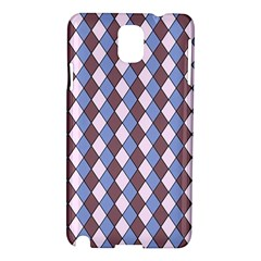 Allover Graphic Blue Brown Samsung Galaxy Note 3 N9005 Hardshell Case
