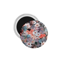 Spring Flowers 1.75  Button Magnet