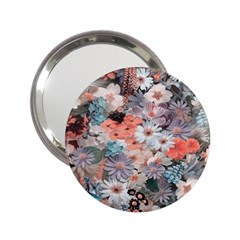 Spring Flowers Handbag Mirror (2.25 )