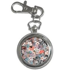 Spring Flowers Key Chain & Watch