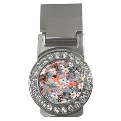 Spring Flowers Money Clip (cz)